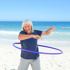 Lose Weight While You Hula Hoop