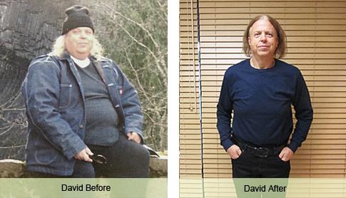 David Weight Loss Success