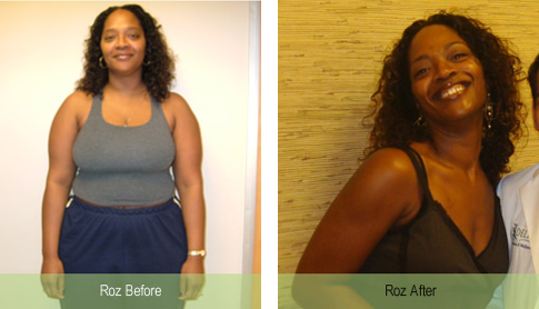 Roz 83 pound weight loss