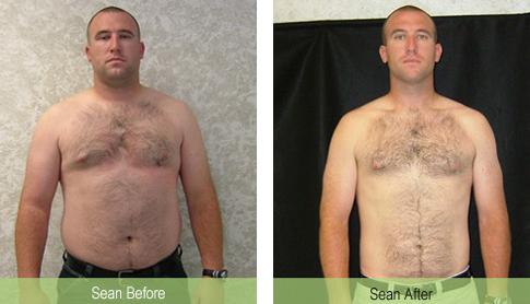 sean weight loss success
