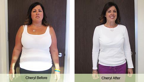 cheryl b weight loss success