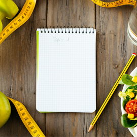 Weight Loss Works Best with A Food Diary