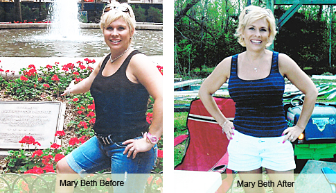 mary beth weight loss success