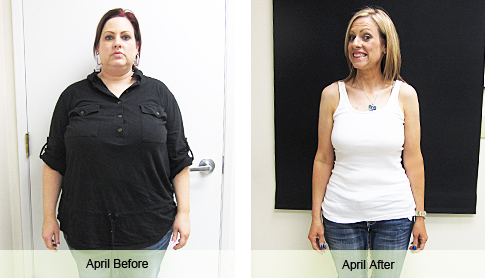 April Weight Loss Success