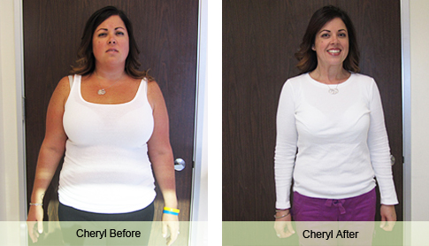 cheryl b weight loss success