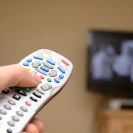 Cut TV Viewing and Lose a Little Weight