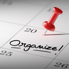 Getting Organized For Weight Loss