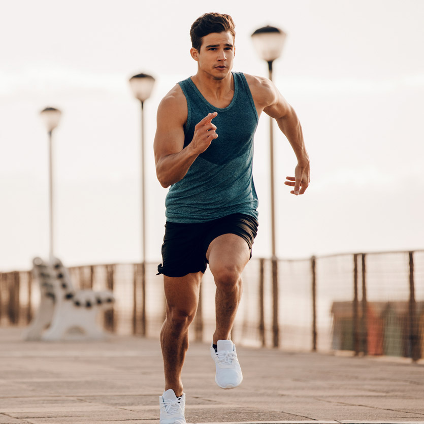 Photo of a runner