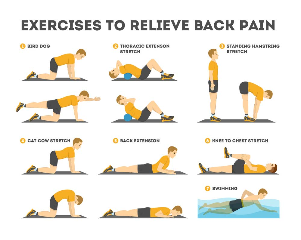 Back exercises for pain
